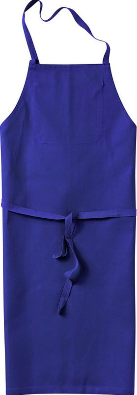 KÜBLER-Workwear-Baumwoll-Arbeits-Schutz-Schürze, Classic-Dress, 280 g/m², kornblau