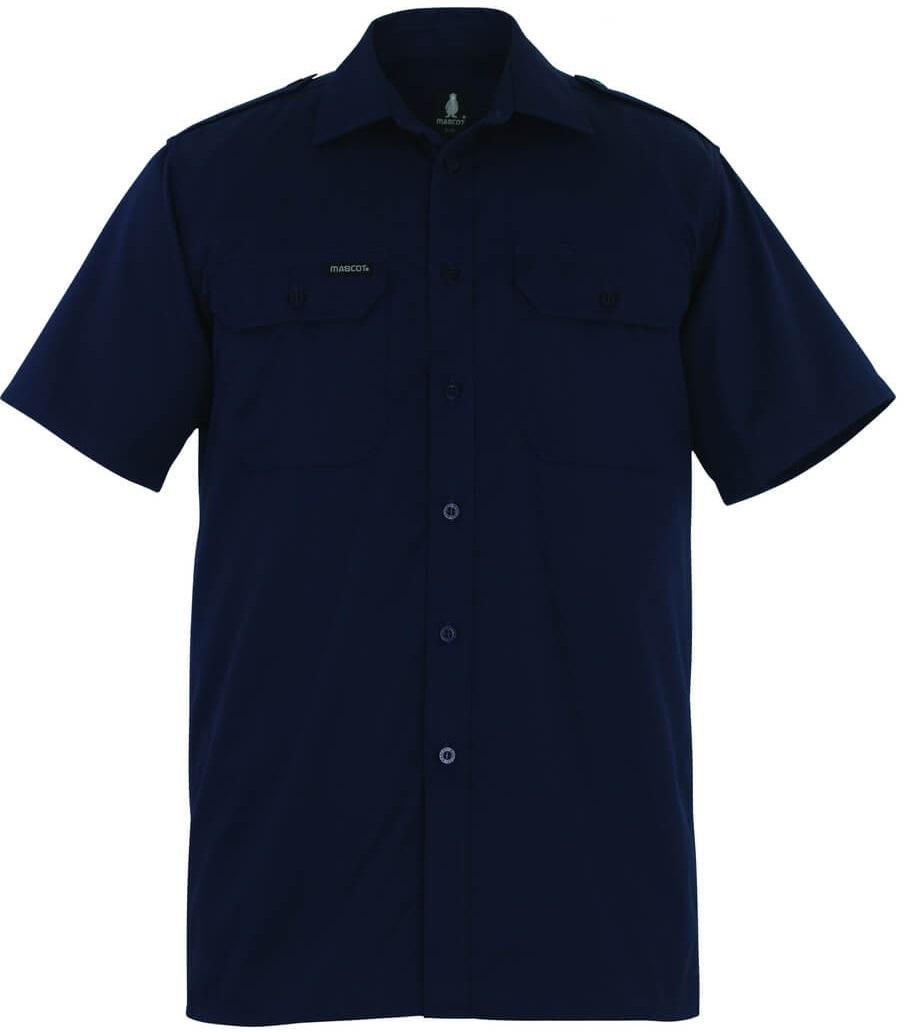 MASCOT-Hemd, Savannah, 205 g/m², marine