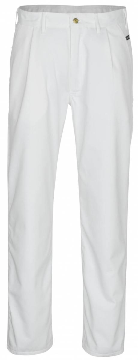 MASCOT-Workwear, Arbeits-Berufs-Bund-Hose, Montana, 82 cm, 310 g/m², weiß