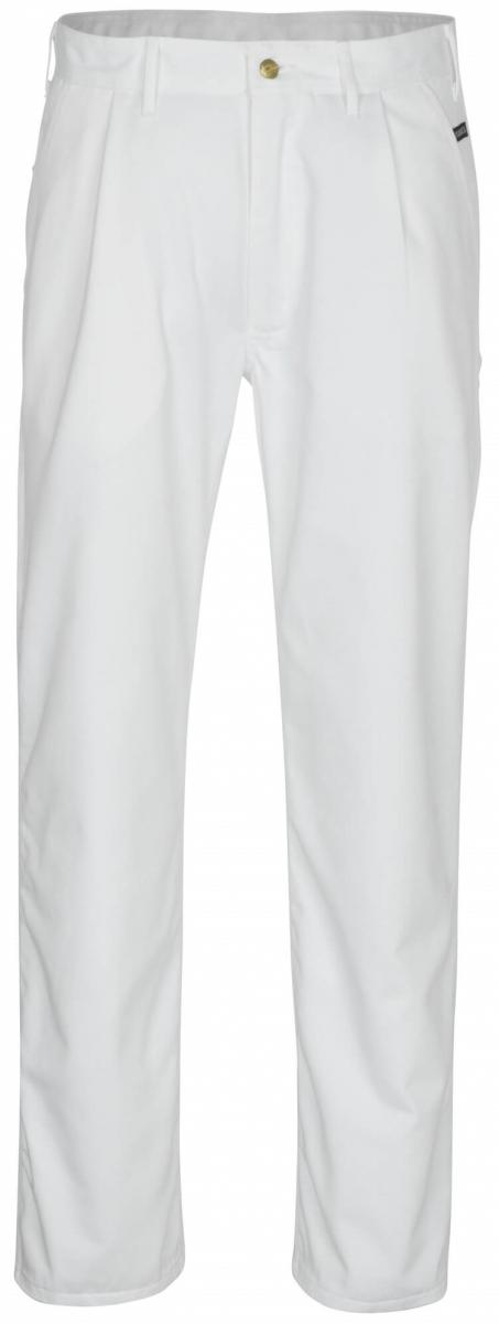 MASCOT-Workwear, Arbeits-Berufs-Bund-Hose, Montana, 90 cm, 310 g/m², weiß