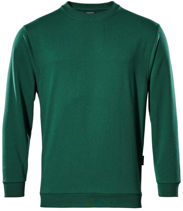 MASCOT-Sweatshirt, Caribien, 310 g/m², grün