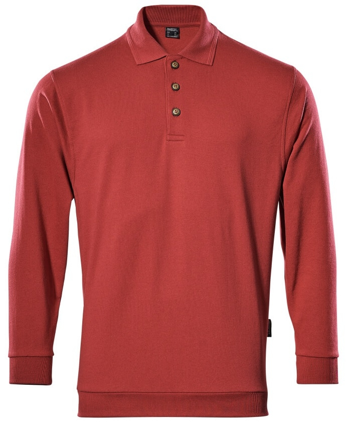MASCOT-Workwear, Polo-Sweatshirt, Trinidad, 310 g/m², rot