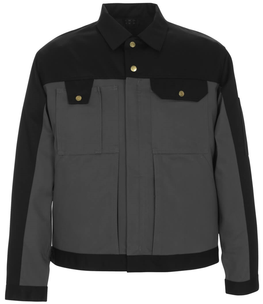 MASCOT-Workwear, Arbeits-Berufs-Bund-Jacke, Capri, 355 g/m², anthrazit/schwarz