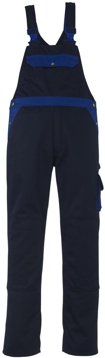 MASCOT-Workwear, Arbeits-Berufs-Latz-Hose, Milano, 90 cm, 310 g/m², marine/kornblau