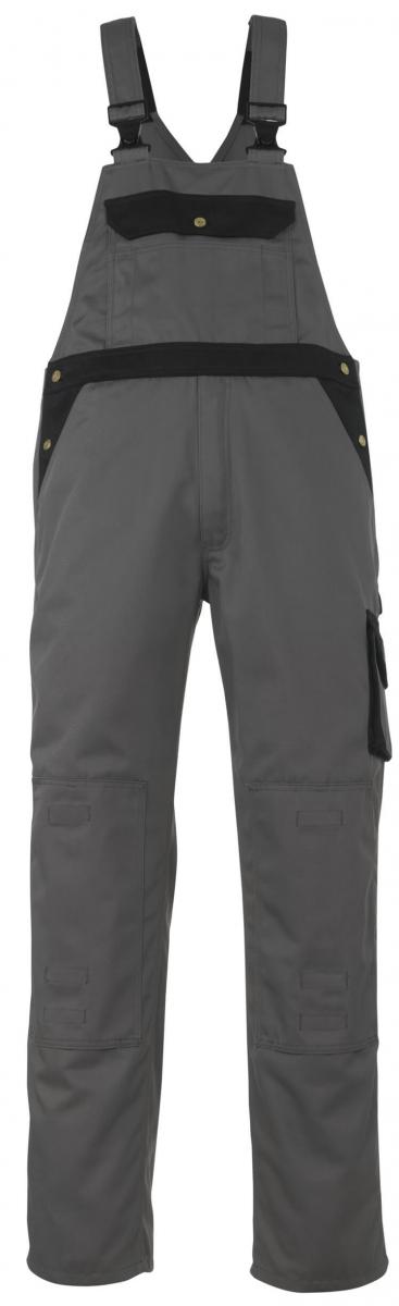 MASCOT-Workwear, Arbeits-Berufs-Latz-Hose, Milano, 90 cm, 310 g/m², anthrazit/schwarz