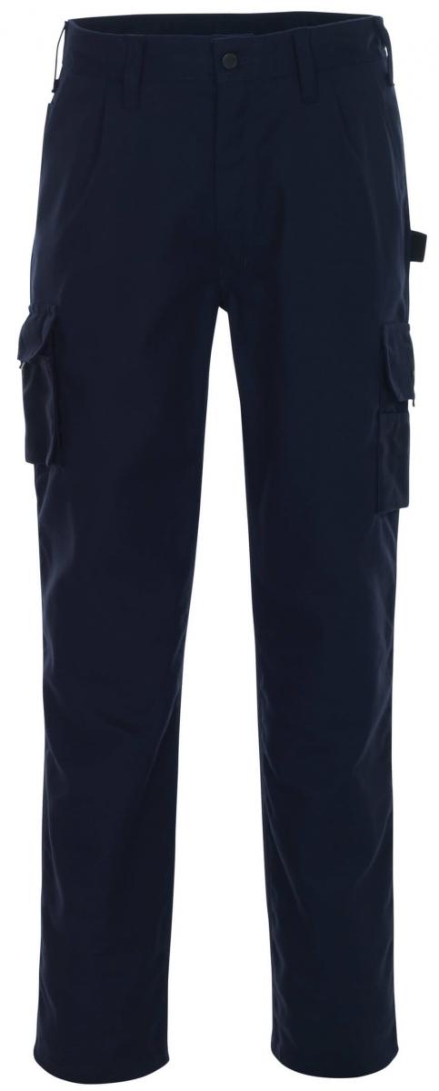 MASCOT-Workwear, Arbeits-Berufs-Bund-Hose, Toledo, 82 cm, 310 g/m², marine