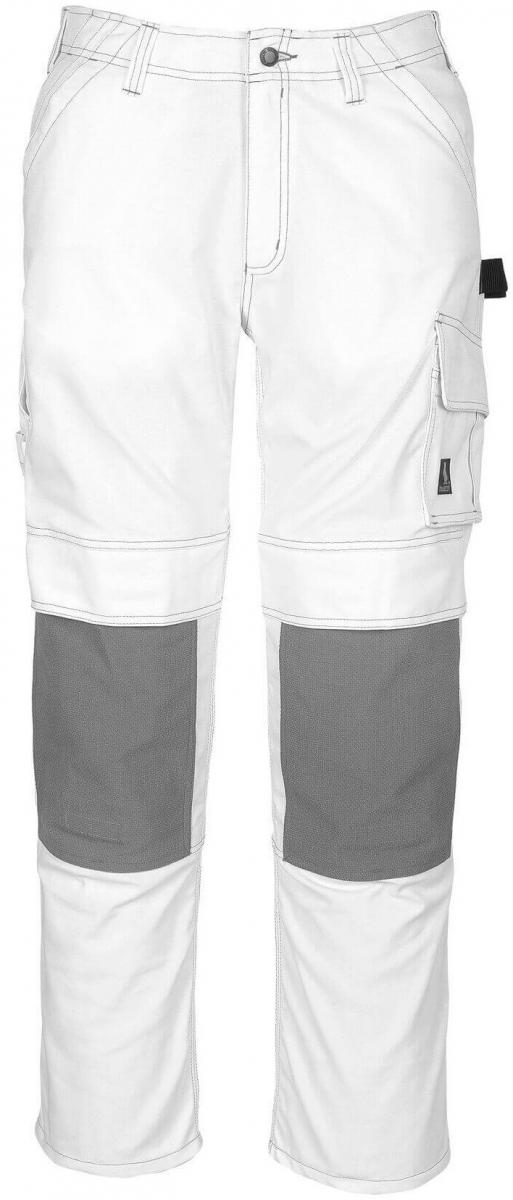 MASCOT-Workwear, Arbeits-Berufs-Bund-Hose, Lerida, 82 cm, 310 g/m², weiß