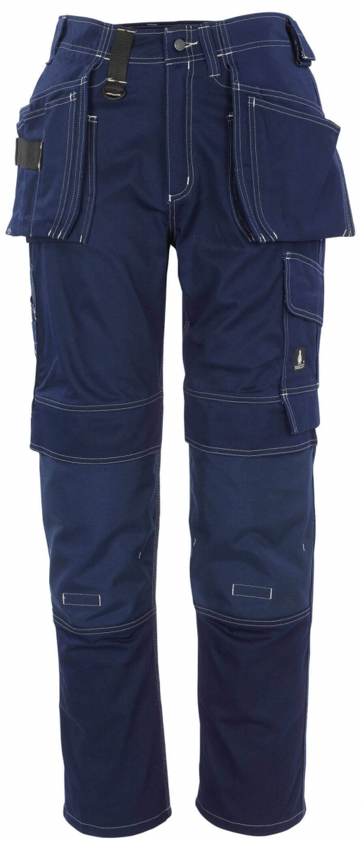 MASCOT-Workwear-Handwerkerhose, Arbeits-Berufs-Bund-Hose, ATLANTA, Lg. 82 cm, BW355, marine