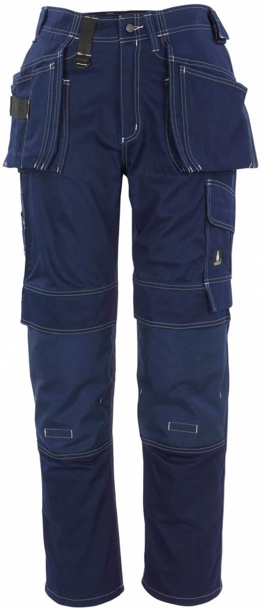 MASCOT-Workwear-Handwerkerhose, Arbeits-Berufs-Bund-Hose, ATLANTA, Lg. 90 cm, BW355, marine