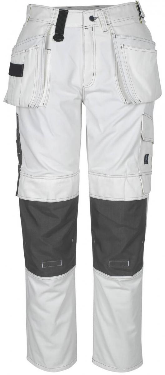 MASCOT-Workwear, Arbeits-Berufs-Bund-Hose, Atlanta, 90 cm, 355 g/m², weiß