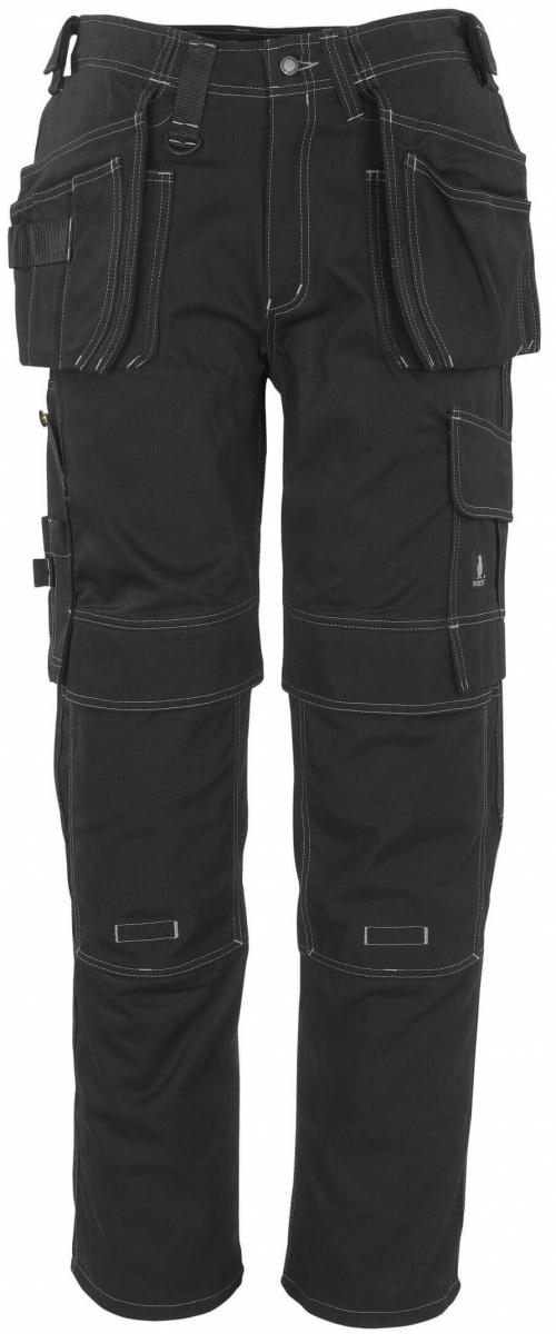 MASCOT-Workwear, Arbeits-Berufs-Bund-Hose, Atlanta, 82 cm, 355 g/m², schwarz
