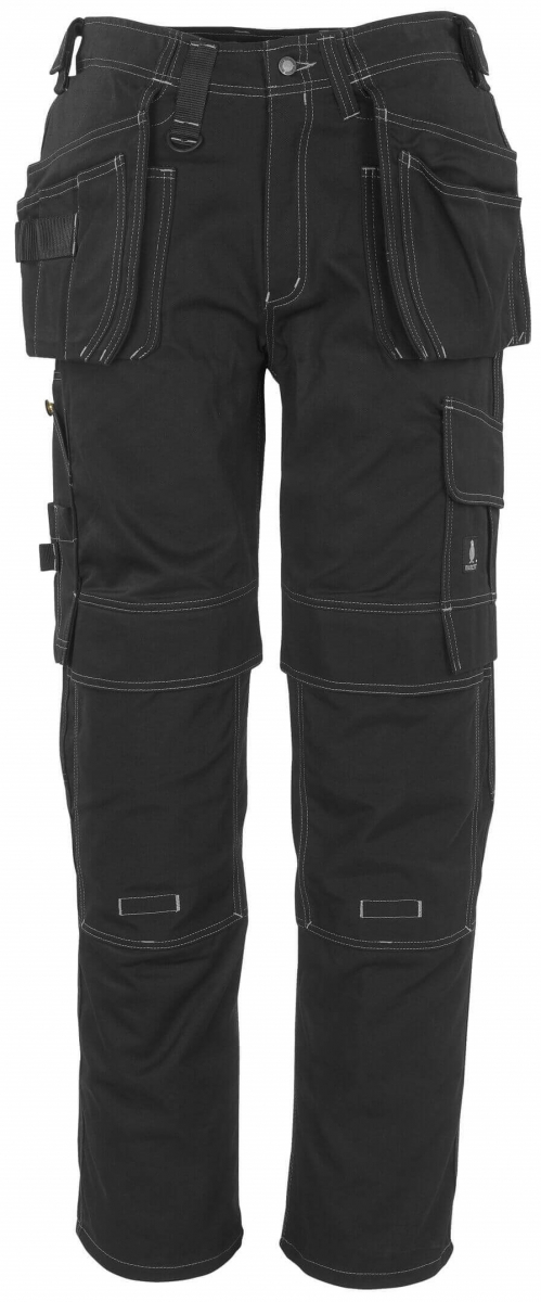 MASCOT-Workwear, Arbeits-Berufs-Bund-Hose, Atlanta, 90 cm, 355 g/m², schwarz