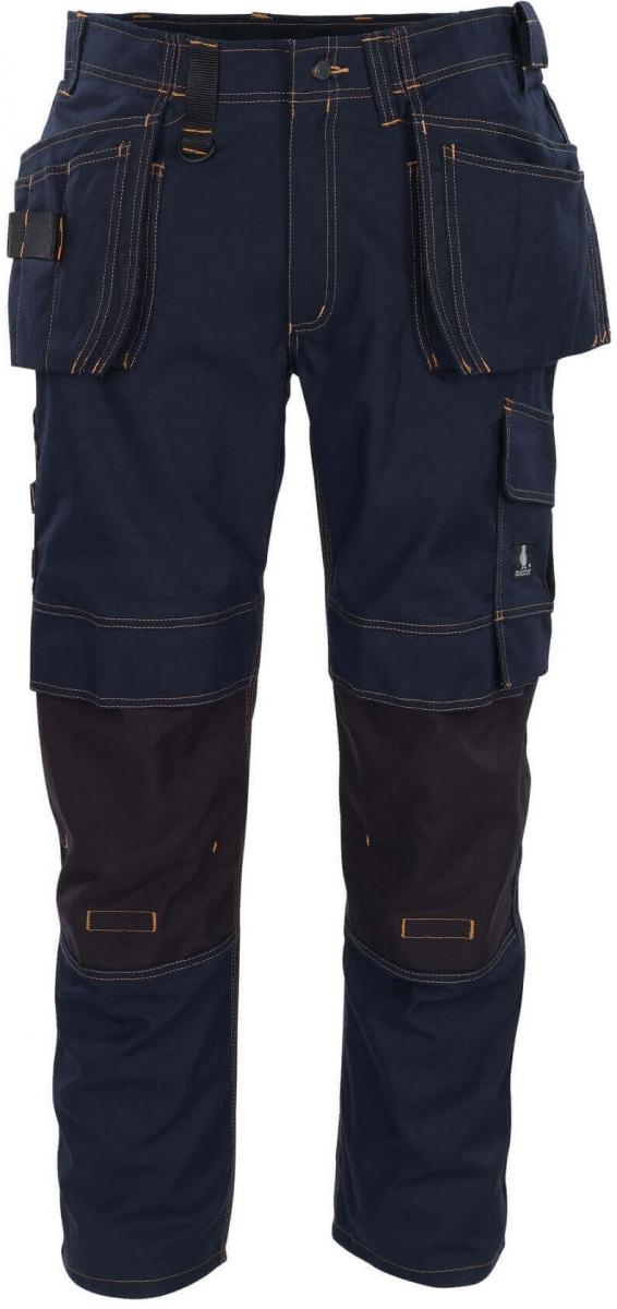MASCOT-Workwear, Arbeits-Berufs-Bund-Hose, Almada, 82 cm, 310 g/m², schwarzblau