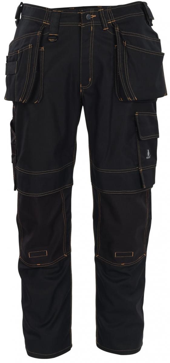 MASCOT-Workwear, Arbeits-Berufs-Bund-Hose, Almada, 90 cm, 310 g/m², schwarz