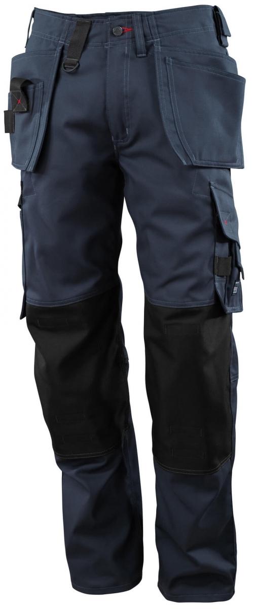 MASCOT-Workwear, Arbeits-Berufs-Bund-Hose, Lindos, 90 cm, 260 g/m², schwarzblau