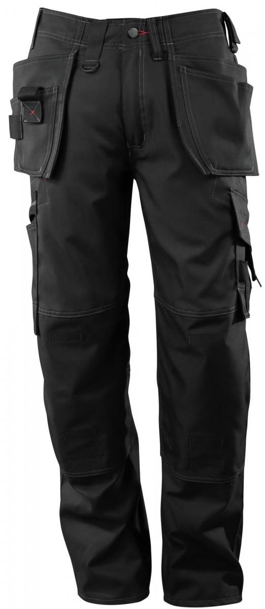 MASCOT-Workwear, Arbeits-Berufs-Bund-Hose, Lindos, 90 cm, 260 g/m², schwarz