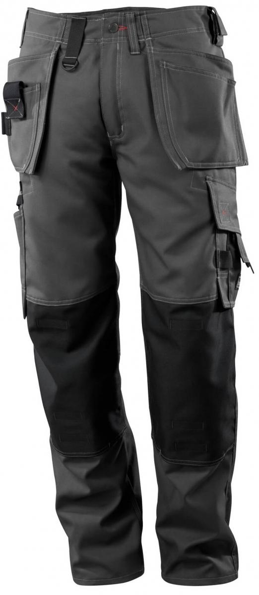 MASCOT-Workwear, Arbeits-Berufs-Bund-Hose, Lindos, 82 cm, 260 g/m², dunkelanthrazit