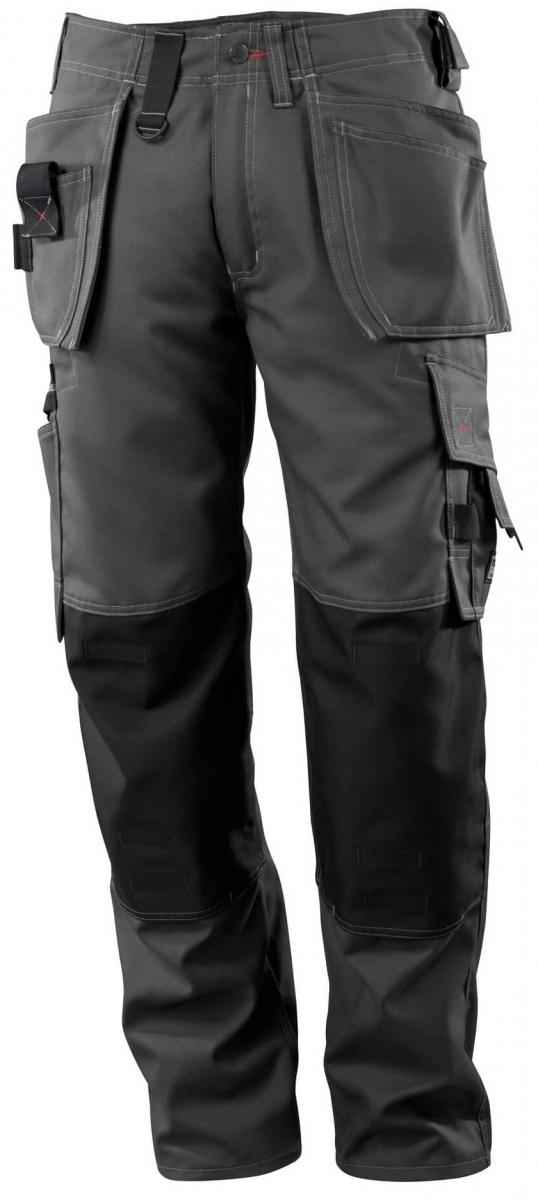 MASCOT-Workwear, Arbeits-Berufs-Bund-Hose, Lindos, 90 cm, 260 g/m², dunkelanthrazit