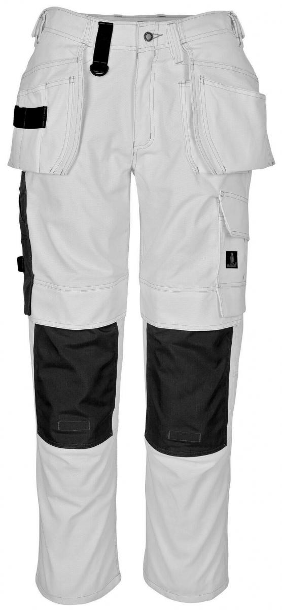 MASCOT-Workwear, Arbeits-Berufs-Bund-Hose, Ronda, 90 cm, 310 g/m², weiß
