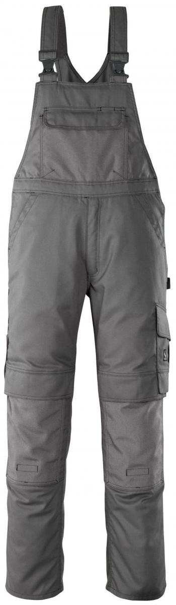 MASCOT-Workwear, Arbeits-Berufs-Latz-Hose, Orense, 82 cm, 310 g/m², anthrazit