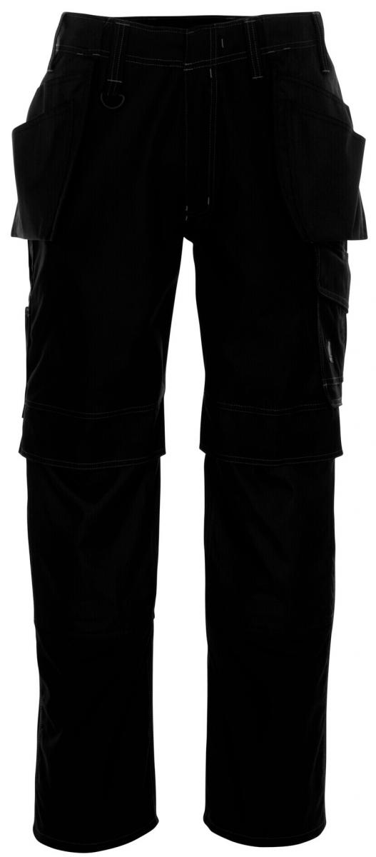 MASCOT-Workwear, Arbeits-Berufs-Bund-Hose, Springfield, 90 cm, 260 g/m², schwarz