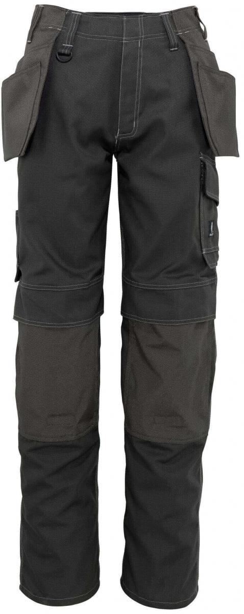 MASCOT-Workwear, Arbeits-Berufs-Bund-Hose, Springfield, 82 cm, 260 g/m², dunkelanthrazit