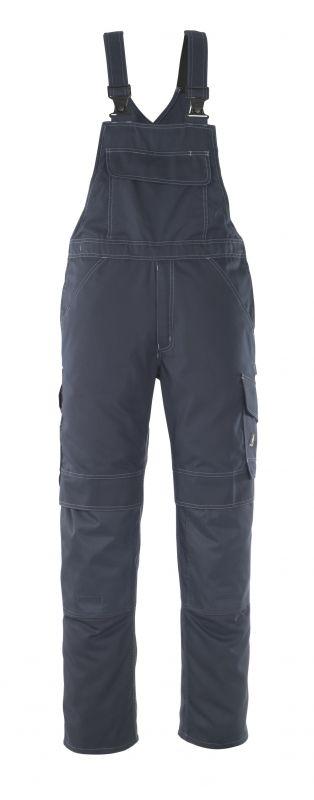 MASCOT-Workwear, Arbeits-Berufs-Latz-Hose, Richmond, 90 cm, 260 g/m², schwarzblau