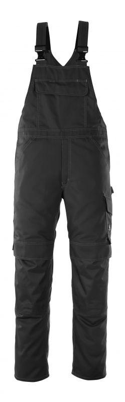 MASCOT-Workwear, Arbeits-Berufs-Latz-Hose, Richmond, 82 cm, 260 g/m², schwarz