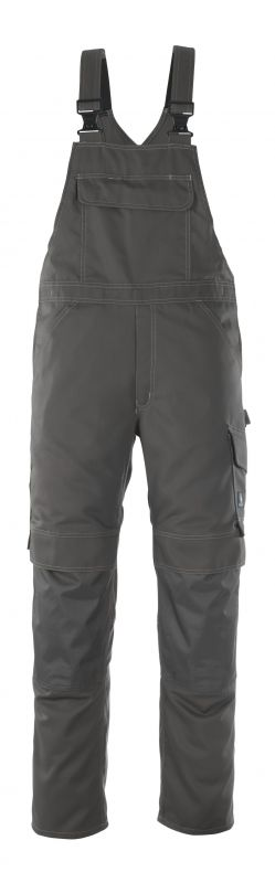 MASCOT-Workwear, Arbeits-Berufs-Latz-Hose, Richmond, 82 cm, 260 g/m², dunkelanthrazit