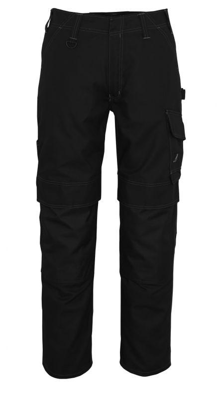 MASCOT-Workwear, Arbeits-Berufs-Bund-Hose, Houston, 82 cm, 260 g/m², schwarz