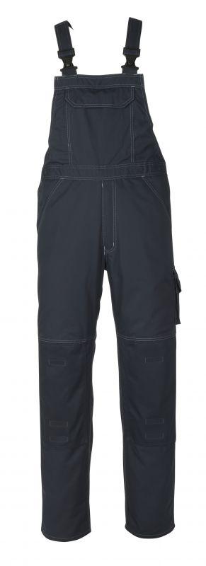 MASCOT-Workwear, Arbeits-Berufs-Latz-Hose, Newark, 82 cm, 270 g/m², schwarzblau