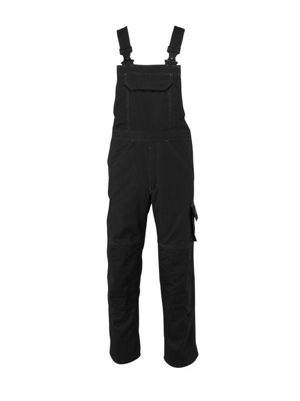 MASCOT-Workwear, Arbeits-Berufs-Latz-Hose, Newark, 82 cm, 270 g/m², schwarz