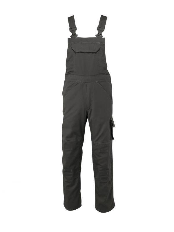 MASCOT-Workwear, Arbeits-Berufs-Latz-Hose, Newark, 82 cm, 270 g/m², dunkelanthrazit