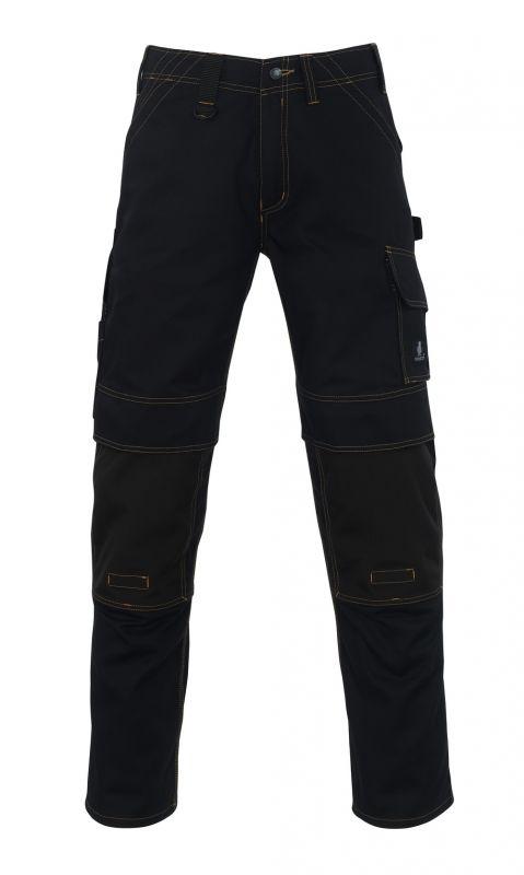 MASCOT-Workwear, Arbeits-Berufs-Bund-Hose, Calvos, 76 cm, 310 g/m², schwarz