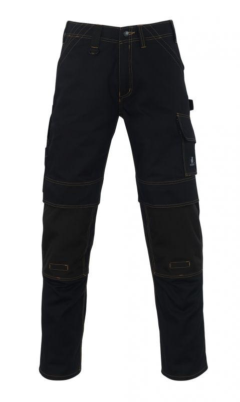MASCOT-Workwear, Arbeits-Berufs-Bund-Hose, Calvos, 90 cm, 310 g/m², schwarz