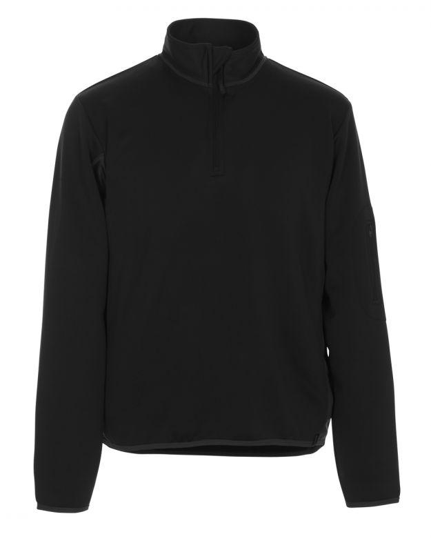 MASCOT-Workwear, Polo-Sweatshirt, Estela, 220 g/m², schwarz/dunkelanthrazit