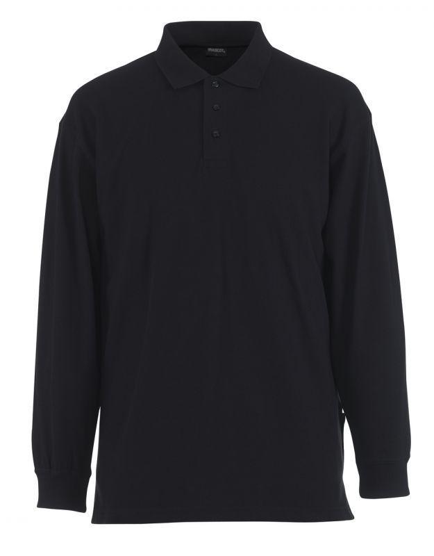 MASCOT-Workwear, Polo-Sweatshirt, Manila, 220 g/m², graphitblau