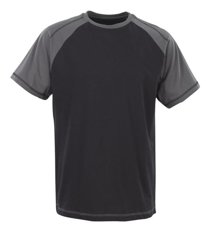 MASCOT-Workwear, T-Shirt, Albano, 195 g/m², schwarz/anthrazit