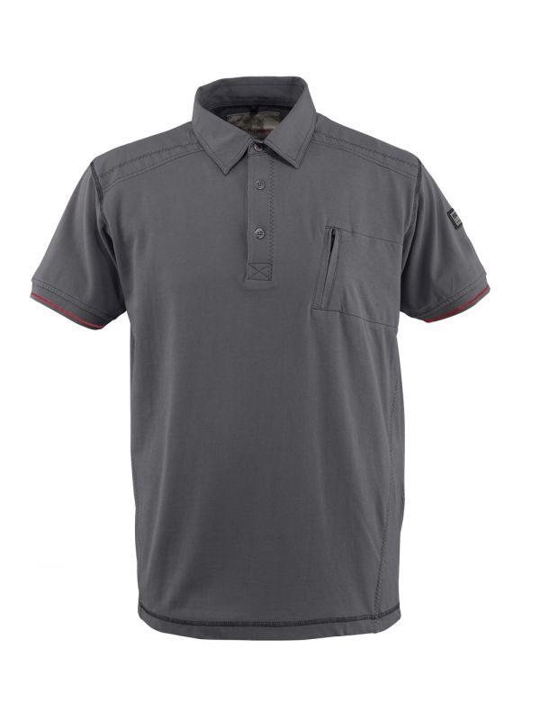 MASCOT-Workwear, Polo-Shirt, Kreta, 270 g/m², hellanthrazit