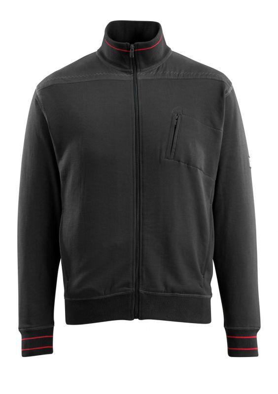 MASCOT-Workwear, Sweatshirt, Chania, 350 g/m², schwarz