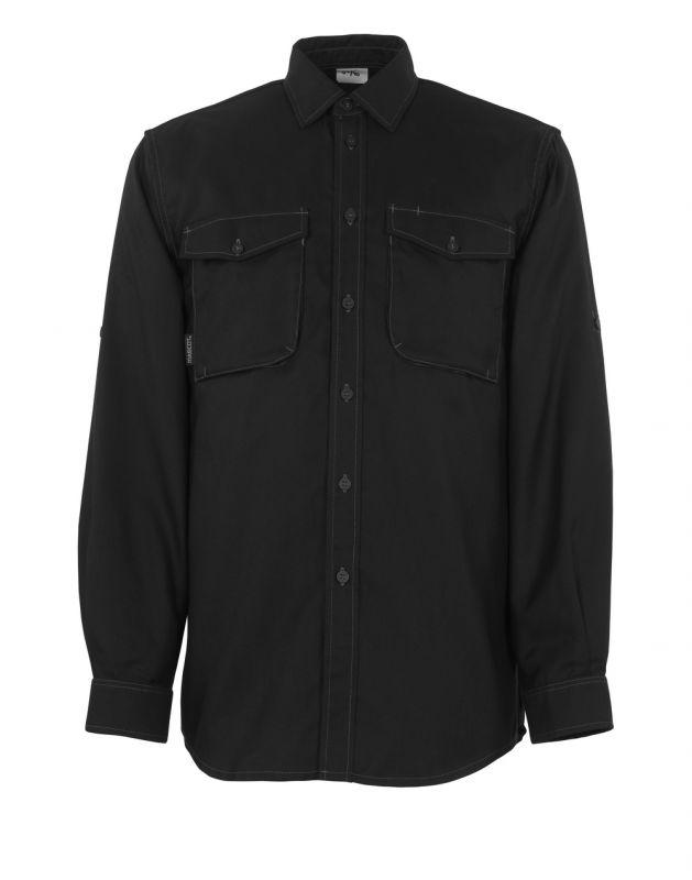 MASCOT-Hemd, Hampton, 180 g/m², schwarz