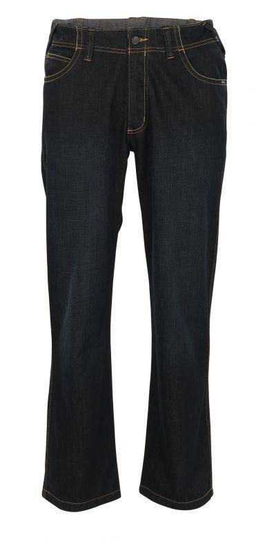 MASCOT-Workwear, Arbeits-Berufs-Jeans-Hose, Fafe, 82 cm, 410 g/m², dunkel-denimblau