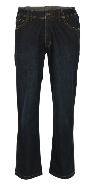 MASCOT-Workwear, Arbeits-Berufs-Jeans-Hose, Fafe, 90 cm, 410 g/m², dunkel-denimblau