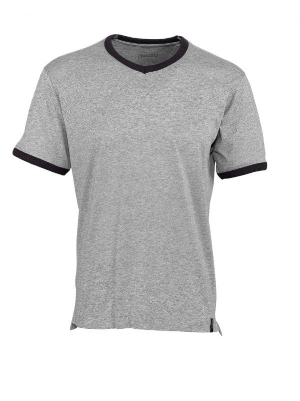 MASCOT-Workwear, T-Shirt, Algoso, 195 g/m², grau-meliert