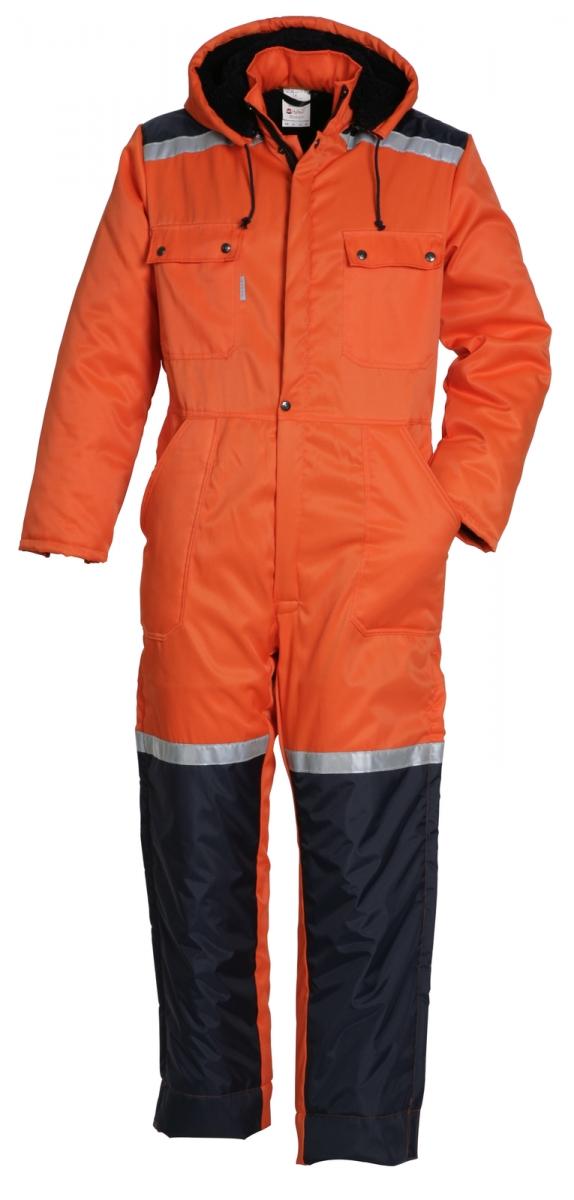 HAVEP-Winter-Overall, 240 g/m², orange/marine