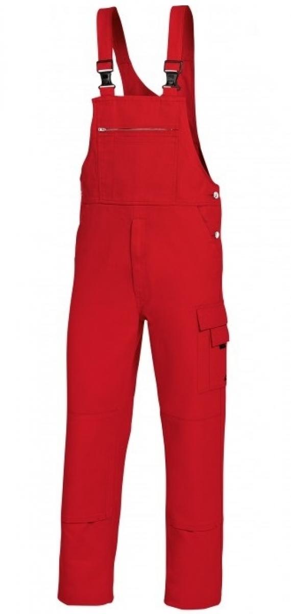 BP Arbeits-Berufs-Latz-Hose rot