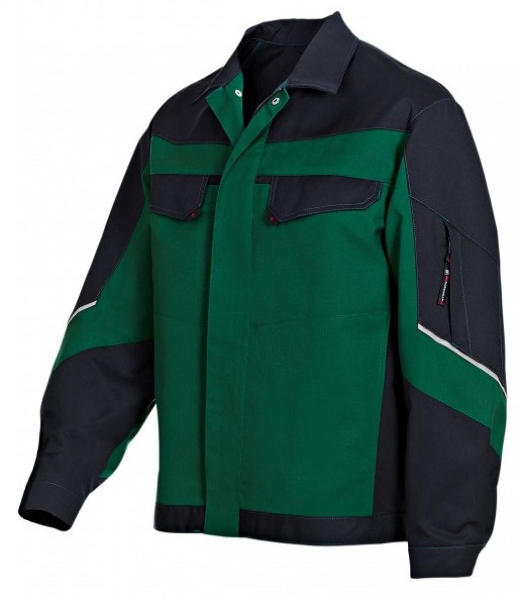 BP Arbeits-Berufs-Bund-Jacke, Blouson, mittelgrün/schwarz