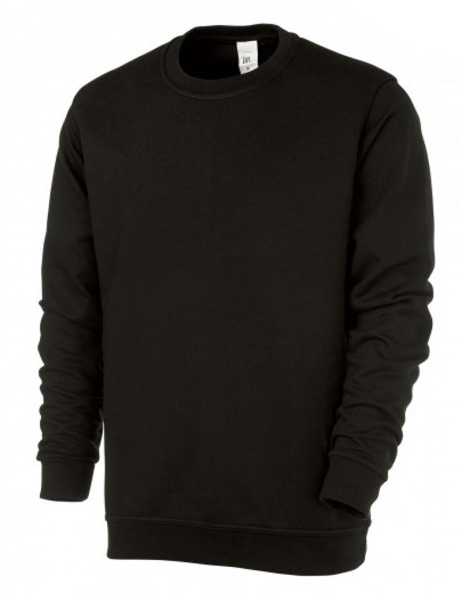 BP Sweat-Arbeits-Berufs-Shirt für Sie & Ihn, schwarz