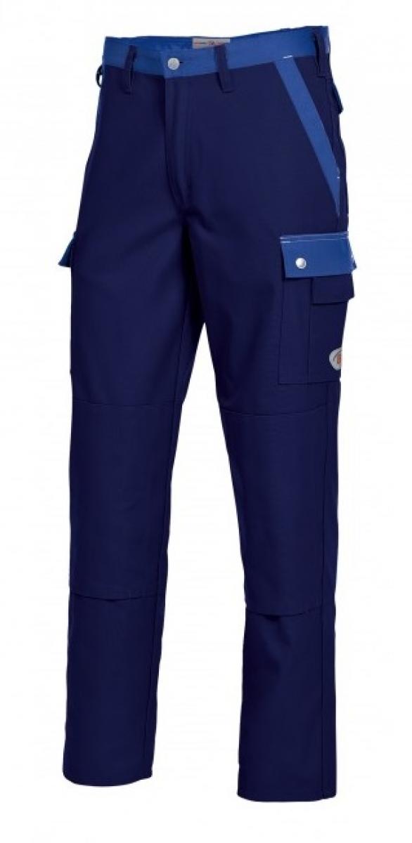 BP Arbeits-Berufs-Bund-Hose, dunkelblau-königsblau