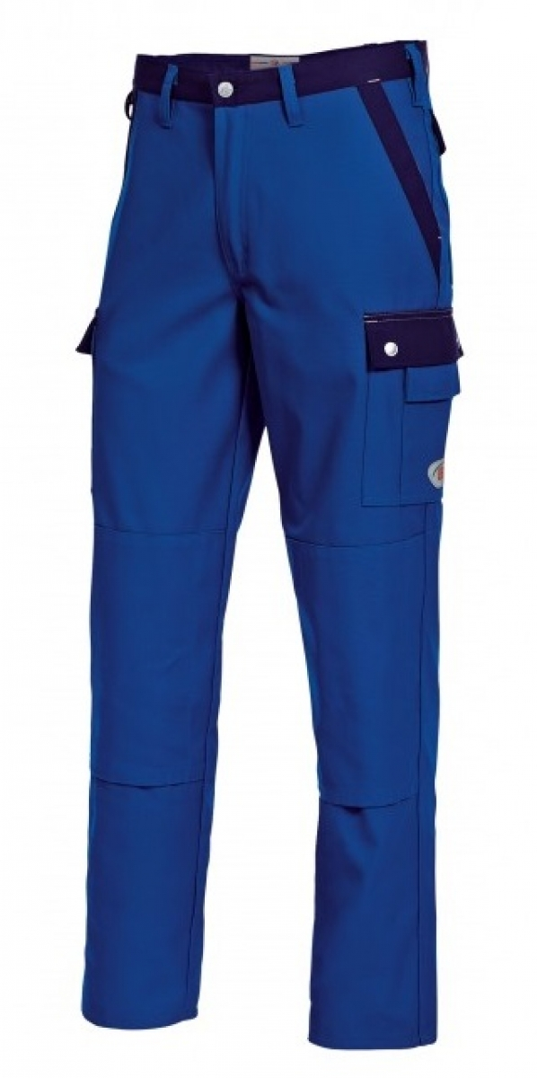 BP Arbeits-Berufs-Bund-Hose, königsblau-dunkelblau